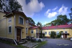 Workers houses in Portsa, Turku, Finland
