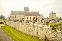Église Saint-Gilles, Ravenoville Village, Normandy
