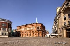Dome Square, Riga, Latvia