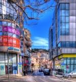 Rruga Skënderbeu, Sarandë, Albania.