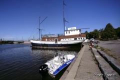Former lightship, Vaasa, Finland